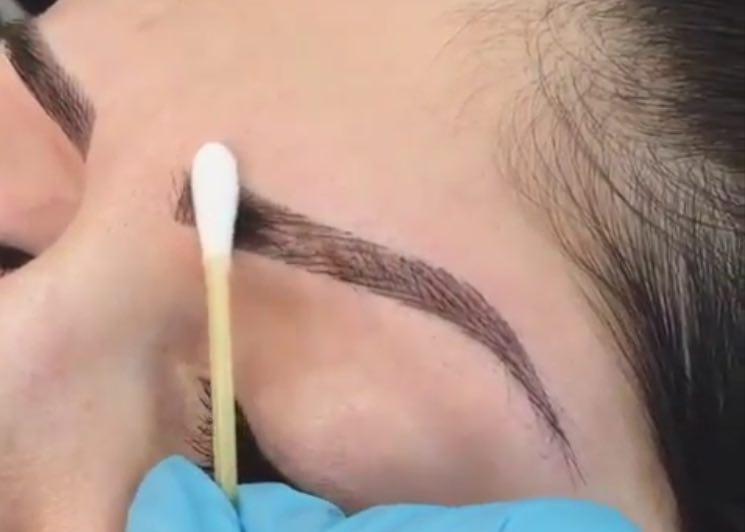 آموزش هاشور ابرو پردرآمد ترین رشته آرایشگری